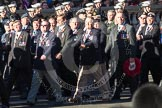 Remembrance Sunday 2012 Cenotaph March Past: Group D1 - South Atlantic Medal Association.. Whitehall, Cenotaph, London SW1,  United Kingdom, on 11 November 2012 at 12:04, image #1208
