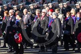 Remembrance Sunday 2012 Cenotaph March Past: Group D2 - SSAFA Forces Help.. Whitehall, Cenotaph, London SW1,  United Kingdom, on 11 November 2012 at 12:05, image #1235