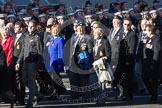 Remembrance Sunday 2012 Cenotaph March Past: Group D5 - British Nuclear Test Veterans Association.. Whitehall, Cenotaph, London SW1,  United Kingdom, on 11 November 2012 at 12:05, image #1254