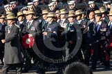 Remembrance Sunday 2012 Cenotaph March Past: Group D7 - British Gurkha Welfare Society.. Whitehall, Cenotaph, London SW1,  United Kingdom, on 11 November 2012 at 12:06, image #1279