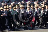 Remembrance Sunday 2012 Cenotaph March Past: Group D7 - British Gurkha Welfare Society.. Whitehall, Cenotaph, London SW1,  United Kingdom, on 11 November 2012 at 12:06, image #1283