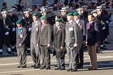 Remembrance Sunday 2012 Cenotaph March Past: Group D25 - Commando Veterans Association.. Whitehall, Cenotaph, London SW1,  United Kingdom, on 11 November 2012 at 12:08, image #1409