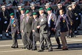 Remembrance Sunday 2012 Cenotaph March Past: Group D25 - Commando Veterans Association.. Whitehall, Cenotaph, London SW1,  United Kingdom, on 11 November 2012 at 12:08, image #1410