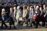 Remembrance Sunday 2012 Cenotaph March Past: Group M6 - Evacuees Reunion Association and M7 - TOC H.. Whitehall, Cenotaph, London SW1,  United Kingdom, on 11 November 2012 at 12:10, image #1480