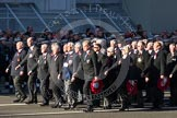 Remembrance Sunday 2012 Cenotaph March Past: Group M12 - National Association of Retired Police Officers.. Whitehall, Cenotaph, London SW1,  United Kingdom, on 11 November 2012 at 12:10, image #1508