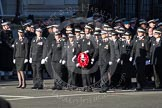 Remembrance Sunday 2012 Cenotaph March Past: Group M16 - St John Ambulance.. Whitehall, Cenotaph, London SW1,  United Kingdom, on 11 November 2012 at 12:11, image #1525