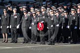 Remembrance Sunday 2012 Cenotaph March Past: Group M16 - St John Ambulance.. Whitehall, Cenotaph, London SW1,  United Kingdom, on 11 November 2012 at 12:11, image #1526