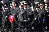 Remembrance Sunday 2012 Cenotaph March Past: Group M16 - St John Ambulance.. Whitehall, Cenotaph, London SW1,  United Kingdom, on 11 November 2012 at 12:11, image #1530