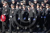 Remembrance Sunday 2012 Cenotaph March Past: Group M16 - St John Ambulance.. Whitehall, Cenotaph, London SW1,  United Kingdom, on 11 November 2012 at 12:11, image #1532