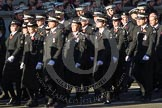 Remembrance Sunday 2012 Cenotaph March Past: Group M16 - St John Ambulance.. Whitehall, Cenotaph, London SW1,  United Kingdom, on 11 November 2012 at 12:11, image #1533