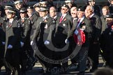 Remembrance Sunday 2012 Cenotaph March Past: Group M16 - St John Ambulance.. Whitehall, Cenotaph, London SW1,  United Kingdom, on 11 November 2012 at 12:11, image #1534