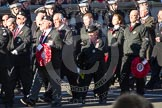 Remembrance Sunday 2012 Cenotaph March Past: Group M16 - St John Ambulance.. Whitehall, Cenotaph, London SW1,  United Kingdom, on 11 November 2012 at 12:11, image #1536