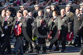 Remembrance Sunday 2012 Cenotaph March Past: Group M16 - St John Ambulance.. Whitehall, Cenotaph, London SW1,  United Kingdom, on 11 November 2012 at 12:11, image #1537