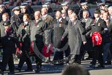 Remembrance Sunday 2012 Cenotaph March Past: Group M16 - St John Ambulance.. Whitehall, Cenotaph, London SW1,  United Kingdom, on 11 November 2012 at 12:11, image #1538