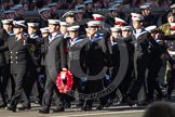 Remembrance Sunday 2012 Cenotaph March Past: Group M43 - Sea Cadet Corps.. Whitehall, Cenotaph, London SW1,  United Kingdom, on 11 November 2012 at 12:14, image #1676