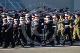 Remembrance Sunday 2012 Cenotaph March Past: Group M43 - Sea Cadet Corps and M44 - Combined Cadet Force.. Whitehall, Cenotaph, London SW1,  United Kingdom, on 11 November 2012 at 12:14, image #1682