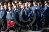 Remembrance Sunday 2012 Cenotaph March Past: Group M50 - Girls Brigade England & Wales.. Whitehall, Cenotaph, London SW1,  United Kingdom, on 11 November 2012 at 12:15, image #1731