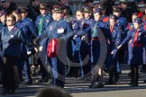 Remembrance Sunday 2012 Cenotaph March Past: Group M51 - Church Lads & Church Girls Brigade.. Whitehall, Cenotaph, London SW1,  United Kingdom, on 11 November 2012 at 12:15, image #1737