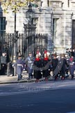 Detachments of various services on the way to the Cenotaph.