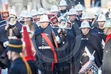 The Band of the Royal Marines playing.