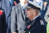 HRH The Duke of Edinburgh, after having laid his wreath at the Cenotaph.