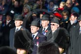 Remembrance Sunday Cenotaph March Past 2013: Trustees of the Royal British Legion leading the March Past.. Press stand opposite the Foreign Office building, Whitehall, London SW1, London, Greater London, United Kingdom, on 10 November 2013 at 11:38, image #11