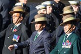 Remembrance Sunday Cenotaph March Past 2013: D2 - British Gurkha Welfare Association.. Press stand opposite the Foreign Office building, Whitehall, London SW1, London, Greater London, United Kingdom, on 10 November 2013 at 11:38, image #32
