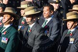 Remembrance Sunday Cenotaph March Past 2013: D2 - British Gurkha Welfare Association.. Press stand opposite the Foreign Office building, Whitehall, London SW1, London, Greater London, United Kingdom, on 10 November 2013 at 11:38, image #41