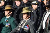 Remembrance Sunday Cenotaph March Past 2013: D2 - British Gurkha Welfare Association.. Press stand opposite the Foreign Office building, Whitehall, London SW1, London, Greater London, United Kingdom, on 10 November 2013 at 11:39, image #45