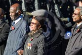 Remembrance Sunday Cenotaph March Past 2013: D3 - West Indian Association of Service Personnel.. Press stand opposite the Foreign Office building, Whitehall, London SW1, London, Greater London, United Kingdom, on 10 November 2013 at 11:39, image #49