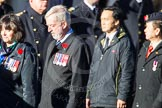 Remembrance Sunday Cenotaph March Past 2013: D7 - Canadian Veterans Association.. Press stand opposite the Foreign Office building, Whitehall, London SW1, London, Greater London, United Kingdom, on 10 November 2013 at 11:39, image #74
