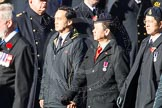 Remembrance Sunday Cenotaph March Past 2013: D9 - Hong Kong Ex-Servicemen's Association (UK Branch).. Press stand opposite the Foreign Office building, Whitehall, London SW1, London, Greater London, United Kingdom, on 10 November 2013 at 11:39, image #75