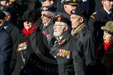 Remembrance Sunday Cenotaph March Past 2013: D26 - Association of Jewish Ex-Servicemen & Women.. Press stand opposite the Foreign Office building, Whitehall, London SW1, London, Greater London, United Kingdom, on 10 November 2013 at 11:41, image #209
