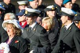 Remembrance Sunday Cenotaph March Past 2013: E1 - Merchant Navy Association.. Press stand opposite the Foreign Office building, Whitehall, London SW1, London, Greater London, United Kingdom, on 10 November 2013 at 11:44, image #326