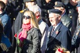 Remembrance Sunday Cenotaph March Past 2013: E1 - Merchant Navy Association.. Press stand opposite the Foreign Office building, Whitehall, London SW1, London, Greater London, United Kingdom, on 10 November 2013 at 11:44, image #328