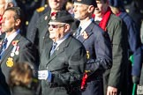 Remembrance Sunday Cenotaph March Past 2013: E1 - Merchant Navy Association.. Press stand opposite the Foreign Office building, Whitehall, London SW1, London, Greater London, United Kingdom, on 10 November 2013 at 11:44, image #335