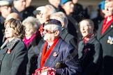 Remembrance Sunday Cenotaph March Past 2013: E1 - Merchant Navy Association.. Press stand opposite the Foreign Office building, Whitehall, London SW1, London, Greater London, United Kingdom, on 10 November 2013 at 11:44, image #339