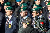 Remembrance Sunday Cenotaph March Past 2013: E3 - Royal Marines Association.. Press stand opposite the Foreign Office building, Whitehall, London SW1, London, Greater London, United Kingdom, on 10 November 2013 at 11:44, image #374