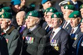 Remembrance Sunday Cenotaph March Past 2013: E3 - Royal Marines Association.. Press stand opposite the Foreign Office building, Whitehall, London SW1, London, Greater London, United Kingdom, on 10 November 2013 at 11:44, image #376