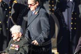 Remembrance Sunday Cenotaph March Past 2013: E4 - Aircraft Handlers Association.. Press stand opposite the Foreign Office building, Whitehall, London SW1, London, Greater London, United Kingdom, on 10 November 2013 at 11:45, image #407