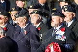 Remembrance Sunday Cenotaph March Past 2013: E6 - Aircrewmans Association.. Press stand opposite the Foreign Office building, Whitehall, London SW1, London, Greater London, United Kingdom, on 10 November 2013 at 11:45, image #413