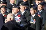 Remembrance Sunday Cenotaph March Past 2013: E6 - Aircrewmans Association.. Press stand opposite the Foreign Office building, Whitehall, London SW1, London, Greater London, United Kingdom, on 10 November 2013 at 11:45, image #414