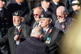 Remembrance Sunday Cenotaph March Past 2013: E6 - Aircrewmans Association.. Press stand opposite the Foreign Office building, Whitehall, London SW1, London, Greater London, United Kingdom, on 10 November 2013 at 11:45, image #419