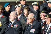 Remembrance Sunday Cenotaph March Past 2013: E8 - Fleet Air Arm Armourers Association.. Press stand opposite the Foreign Office building, Whitehall, London SW1, London, Greater London, United Kingdom, on 10 November 2013 at 11:45, image #425