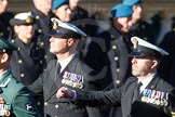 Remembrance Sunday Cenotaph March Past 2013: E12 - Fleet Air Arm Junglie Association.. Press stand opposite the Foreign Office building, Whitehall, London SW1, London, Greater London, United Kingdom, on 10 November 2013 at 11:46, image #468