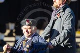 Remembrance Sunday Cenotaph March Past 2013: E22 - HMS Glasgow Association.. Press stand opposite the Foreign Office building, Whitehall, London SW1, London, Greater London, United Kingdom, on 10 November 2013 at 11:46, image #512