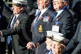 Remembrance Sunday Cenotaph March Past 2013: E23 - HMS St Vincent Association.. Press stand opposite the Foreign Office building, Whitehall, London SW1, London, Greater London, United Kingdom, on 10 November 2013 at 11:47, image #524