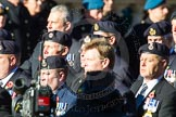 Remembrance Sunday Cenotaph March Past 2013: E27 - Type 42 Association.. Press stand opposite the Foreign Office building, Whitehall, London SW1, London, Greater London, United Kingdom, on 10 November 2013 at 11:47, image #562