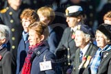 Remembrance Sunday Cenotaph March Past 2013: E30 - Association of WRENS.. Press stand opposite the Foreign Office building, Whitehall, London SW1, London, Greater London, United Kingdom, on 10 November 2013 at 11:47, image #596