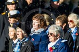 Remembrance Sunday Cenotaph March Past 2013: E30 - Association of WRENS.. Press stand opposite the Foreign Office building, Whitehall, London SW1, London, Greater London, United Kingdom, on 10 November 2013 at 11:47, image #598